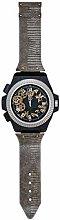 Febland Large Novelty Wrist Watch Wall Clock-Silver