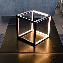 Febland LED Black Box Table Lamp