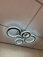 Febland Remote Control LED Four Ring Flush