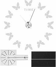 FECAMOS Wall Clock, Modern Design Acrylic Wall