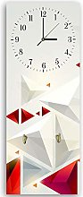 Feeby. Wall Clock with Hangers, Deco Panel Picture