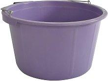 Feed Bucket (20 litre) (Purple) - Lincoln