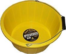 Feed Bucket (3 Gallons) (Yellow) - Prostable