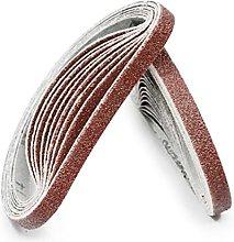 feeloo Sanding Belts 10Pcs 25X330mm Belt sander