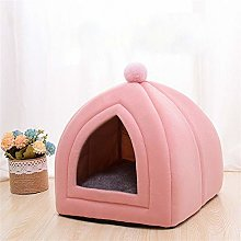 FEIHAIYANYcwm Dog Beds Cat Bed House Indoor Cat