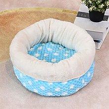 FEIHAIYANYcwm Dog Beds Dog House, Super Soft Pet