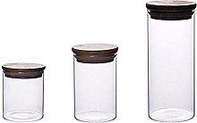 FEILEC Glass Airtight Food Storage Container,