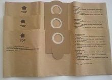 Fein 3 Turbo I 913038k01 Disposable Paper Bags