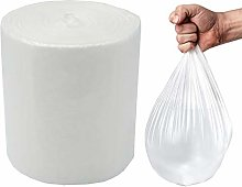 Feisco Small Bin Bag,6 Liters Extra Strong Clear