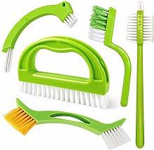 Feizhen Grout Cleaner Brush,5 in 1 Tile Cleaner
