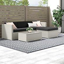 Felicity 4 Seater Rattan Sofa Set Zipcode Design