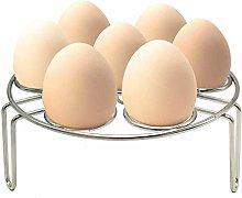 Felieey Egg Steamer Rack, Alamic Egg Rack Steamer