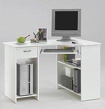 Felix Home Office Wooden Corner Computer Desk In