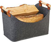 Felt Bag, Felt Storage Basket, Foldable Storage