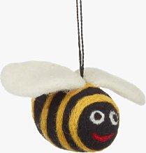 Felt So Good Felt Bumble Bee Hanging Decoration