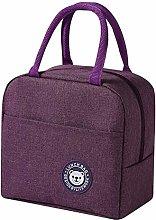Female Lunch Food Box Bag Fashion Insulated