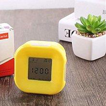FENGLI Alarm Clock Creative Mute Bedside Luminous