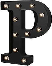 FENGLI Fashion LED Letters Lights, ABS + PP Led