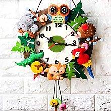 FENGLI Handmade DIY Wall Clock -Hand-made
