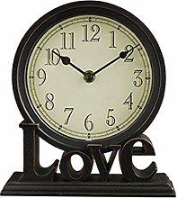 FENGLI Mantle/Desk Clock Living Room Creative Desk