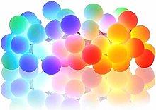FENGLI Multicoloured Fairy Lights Mains Powered