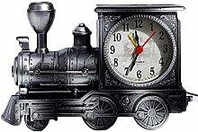 FENGLI Retro Mantle/Desk Clock Antique Locomotive