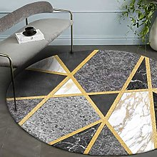 FENGLI Round Carpet Living Room Suitable for