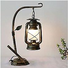 Fengshop Table Lamp Retro Bedside Desk Lamp