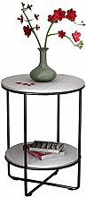 FENGTAB 2-Tier Side Table Nordic Style Accent