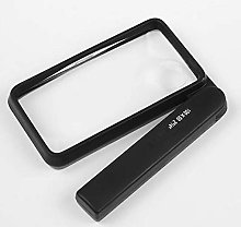 FENGTING 4X Magnifying Glass Square Child Old Man