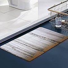 FengYe Soft Microfiber Bath Mat,Morning Mist in