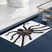 FengYe Soft Microfiber Bath Mat,Spider Bathroom