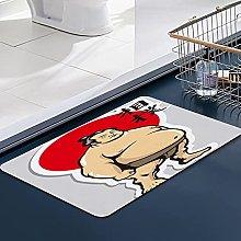 FengYe Soft Microfiber Bath Mat,Sumo Japanese