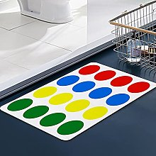 FengYe Soft Microfiber Bath Mat,Twister Design