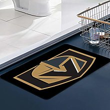 FengYe Soft Microfiber Bath Mat,Vegas Golden