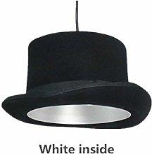 FENGZE Modern Style Gentleman Dress Hat Lamp Top