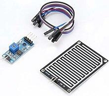 fengzong 5V LED Rain Sensor Raindrops Water