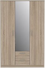 Fenimore 3 Door Wardrobe Ebern Designs Interior