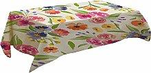 Fenleo Fresh Flower Pattern Table Cloth