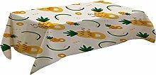 Fenleo Fruit Pattern Table Cloth Rectangular Tea