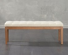 Fennimore Upholstered Bench Brambly Cottage