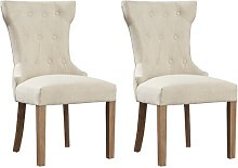 Fennimore Upholstered Dining Chair Brambly Cottage