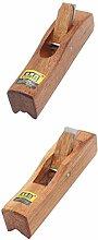 Fenteer 2X Rosewood Carpenter Plane Polish Wood