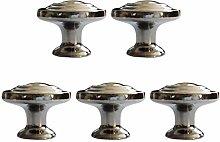 Fenteer 5 Pcs Furniture Knobs Furniture Handles
