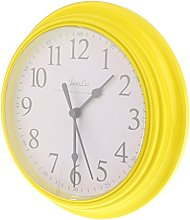 Fenteer 9 Inch Simple Wall Clock Office Clock,