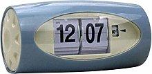 Fenteer Auto Flip Clock Table Alarm Clock Kids
