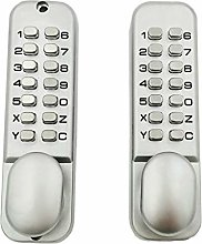 Fenteer Double-Sided Door Password Lock 3-7 Digit