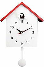 Fenteer Elegant Cuckoo Clock Wall Clock- Mute