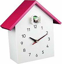 Fenteer Elegant Cuckoo Clock Wall Clock - Mute