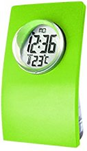 Fenteer Green/Red Water Powered Desk Alarm Clock